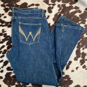 Wrangler Cash cowgirl jeans 15/16 x 30